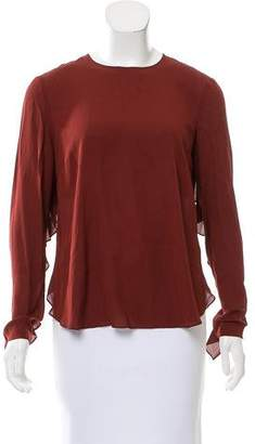 A.L.C. Silk Long Sleeve Top w/ Tags