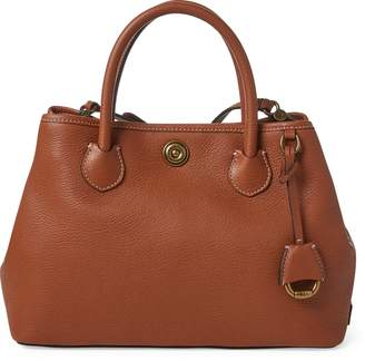 Ralph Lauren Leather Mini Market Tote