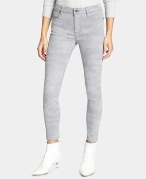 Sanctuary Social Standard Camo-Print Ankle Skinny Jeans