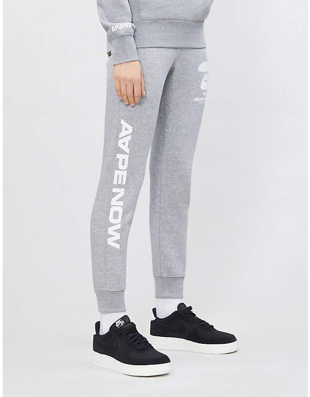 Aape Now cotton-blend jogging bottoms