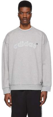 adidas Grey Archive Sweatshirt