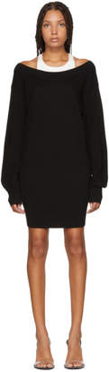Alexander Wang Black Inner Tank Knit Dress