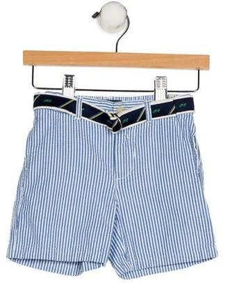 Ralph Lauren Boys' Striped Belted Shorts