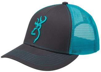 Browning Cap Flashback, Charcoal/Neon Blue