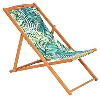 Argos Home Deck Chair - Palm