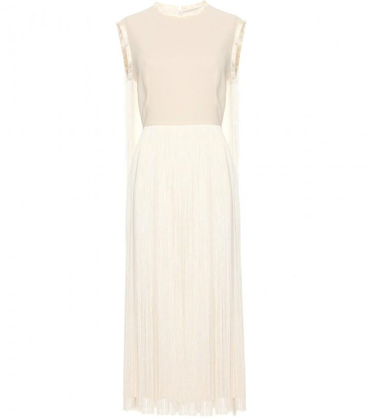 Stella McCartney MELROSE DRESS WITH FRINGE