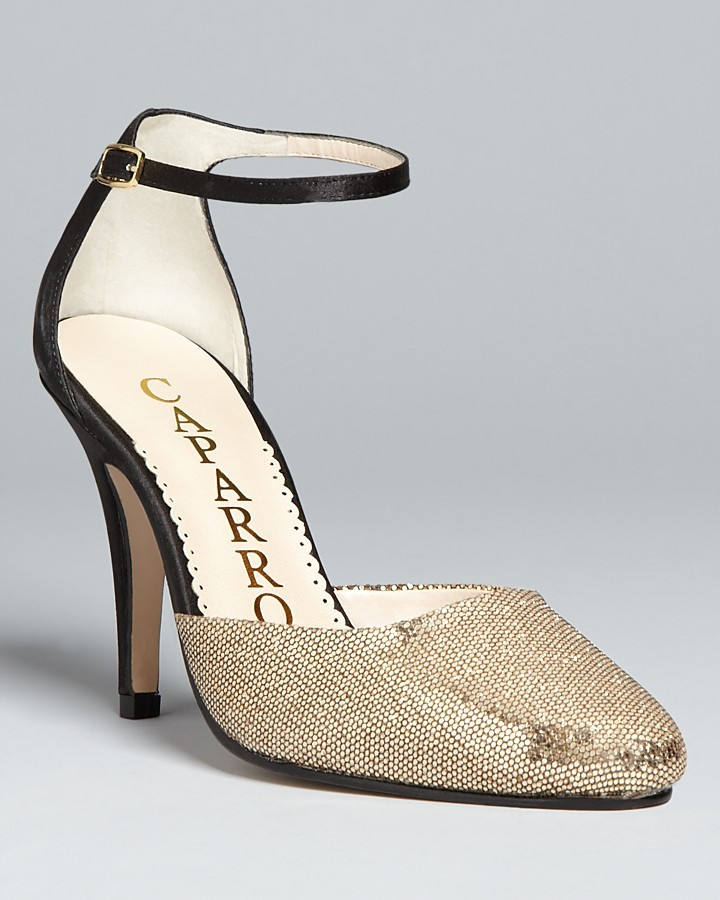 Caparros Ankle Strap Evening Sandals - Cassidy