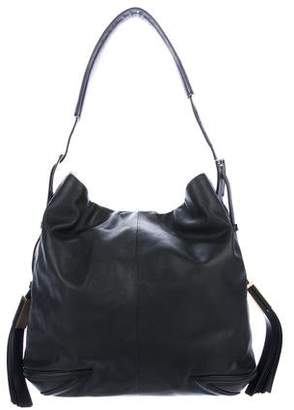 Brian Atwood Smooth Leather Large Hobo