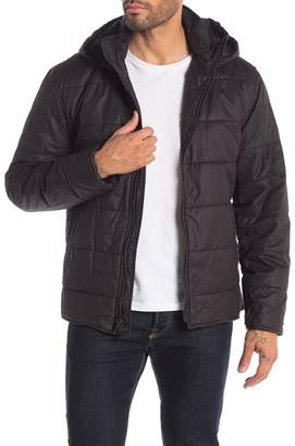 John Varvatos Collection Quilted Puffer Hooded Jacket