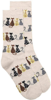 K. Bell Cat Tail Crew Socks - Women's