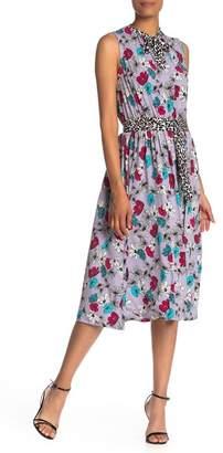 22e72c66f267 Leota Mindy Front Tie Sleeveless Dress