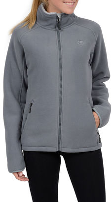 Champion Sherpa-Lined Microfleece Jacket $95 thestylecure.com