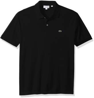 Lacoste Men's Short Sleeve Pima Jersey Interlock Regular Fit Polo, DH2050
