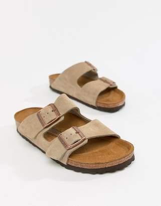 c495ca072a47 Birkenstock Arizona Taupe Suede Fit Flat Sandals