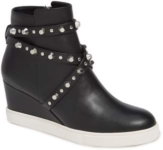 Linea Paolo Fallon Studded Wedge Sneaker
