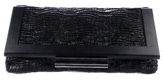 Devi Kroell Textured Leather Clutch