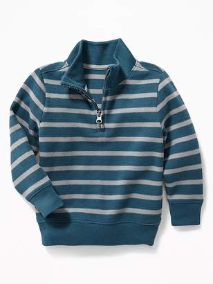 Old Navy Striped French-Rib 1/4-Zip Pullover for Toddler Boys