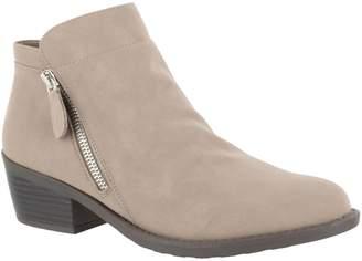 Easy Street Shoes Comfort Side-Zip Closed-Toe Booties- Gusto