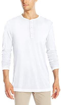 Michael Stars Men's Pacific Long Sleeve Henley Shirt