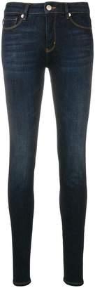 Love Moschino logo print skinny jeans