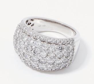Affinity Diamond Jewelry Affinity 14K Gold Diamond Band Ring, 3.00cttw