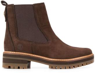 Timberland ridged sole ankle boots
