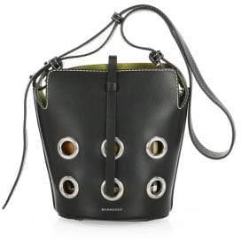 Burberry Mini Grommet Bucket Bag