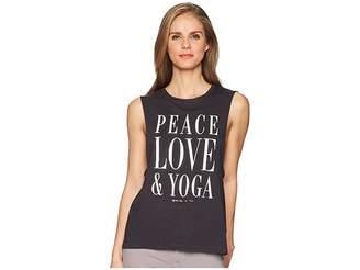 Spiritual Gangster Peace Love Yoga Tank Top