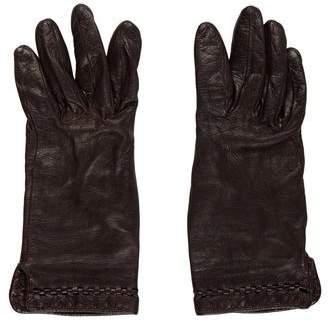 Calvin Klein Collection Leather Gloves