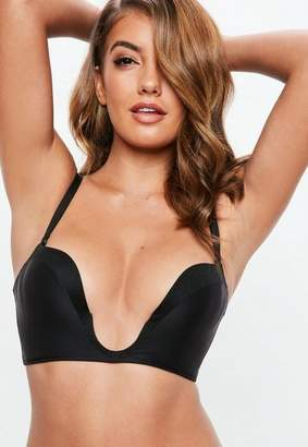 4af71a5f48 Missguided Wonderbra Black Ultimate Plunge Bra