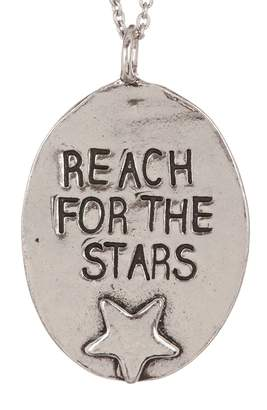 Alisa Michelle Silver Reach For The Stars Necklace