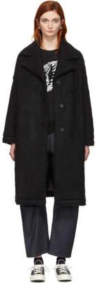 McQ Black Volume Coat