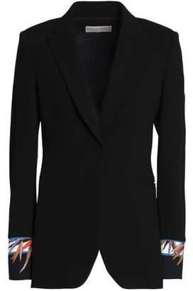 Emilio Pucci Printed Wool-Blend Blazer