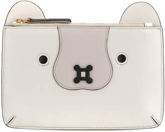 Anya Hindmarch zipped bear purse