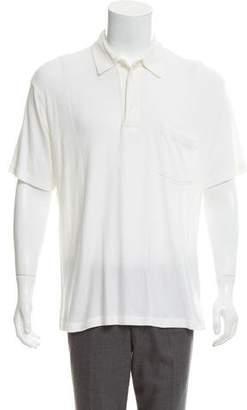 Armani Collezioni Tonal Polo Shirt