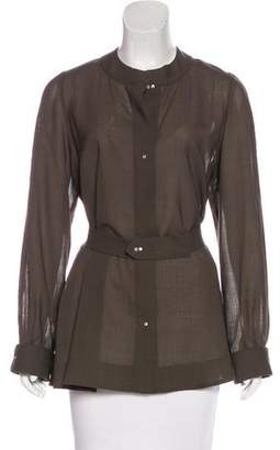 Chloé Wool Long Sleeve Top