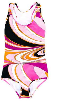 Emilio Pucci Junior printed swimsuit