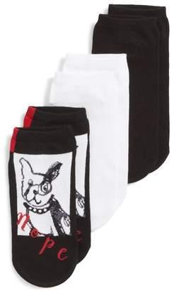 Hue Stubborn Dog 3-Pack Socks