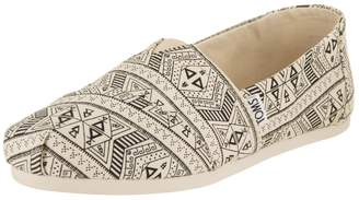 Toms Women's Classic Natural/Black Casual Shoe 7 Women US