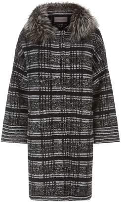 D-Exterior D.Exterior Tweed Coat