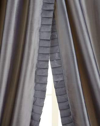 "Home Silks Pair of 50""W x 96""L Simone Curtains"
