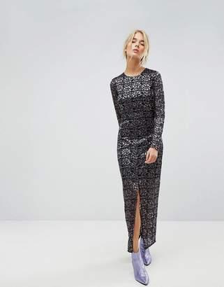 Gestuz Lace Maxi Dress