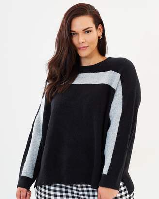 ICONIC EXCLUSIVE - Toby Colour Block Jumper