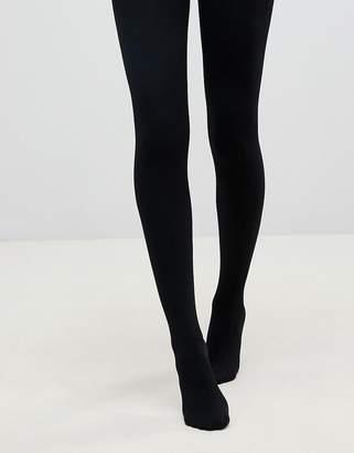 49a26de05 Pretty Polly 200 Denier Fleecy opaque tights in black