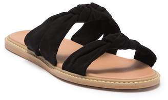 Susina Dawna Knotted Slide Sandal