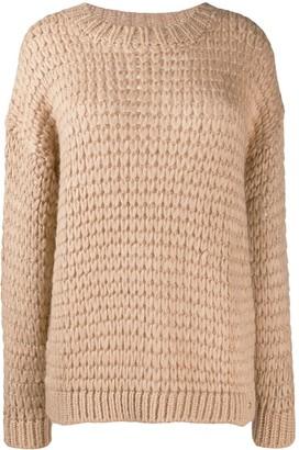 Twin-Set loose knit jumper