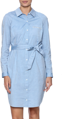 Not Your Daughter's Jeans Blue Chambray Dress $168 thestylecure.com