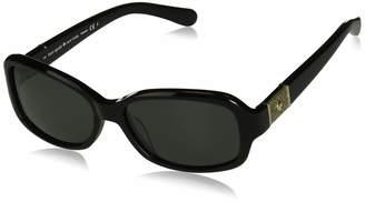 4cc4be980ea Kate Spade new york Women s Cheyenne p s Polarized Oval Sunglasses
