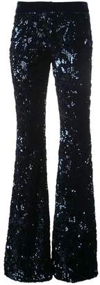 Alexis sequin embellished trousers