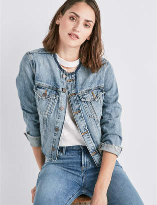 Lucky Brand REMADE SMART JEAN TRUCKER JACKET
